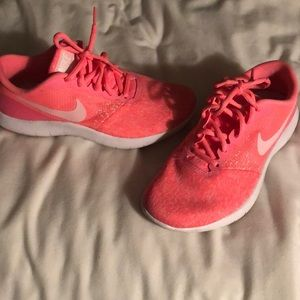 Worn once Neon Pink Nikes